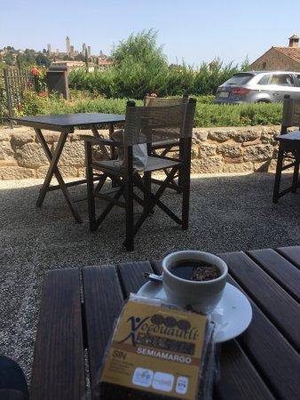 Locanda Viani : Café estilo Bene Vento, Napoli de despedida hecho por la Gran Chef Paola, combinado con Xoccouau