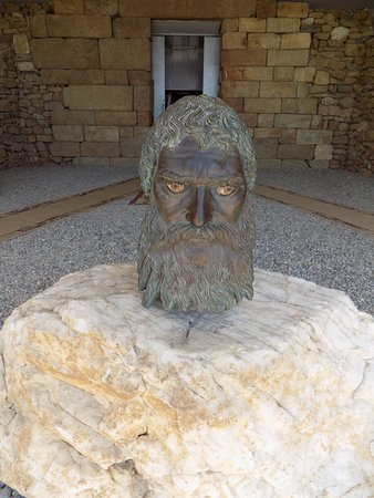 Kazanlak, Bulgaria: The head of Seuthes III.