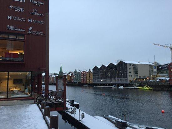 Scandic Bakklandet: vista fronte hotel