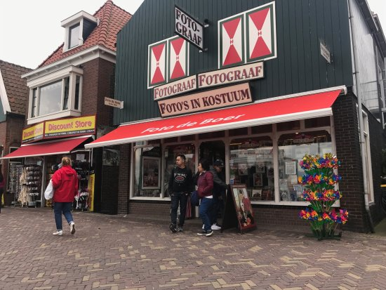 Volendam, Hollanda: the photo studio