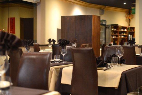 sampan restaurant the brown beige decor in sampan even the floors walls