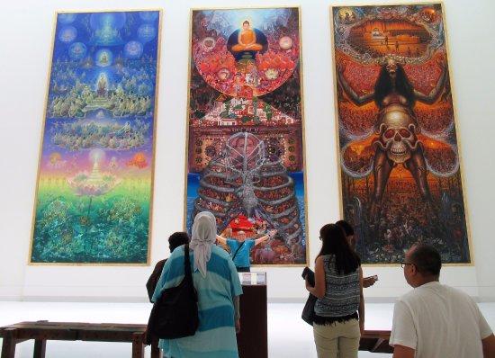 D Exhibition Bangkok : Exhibition picture of museum contemporary art moca