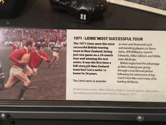 New Zealand Rugby Museum : Those were the days!