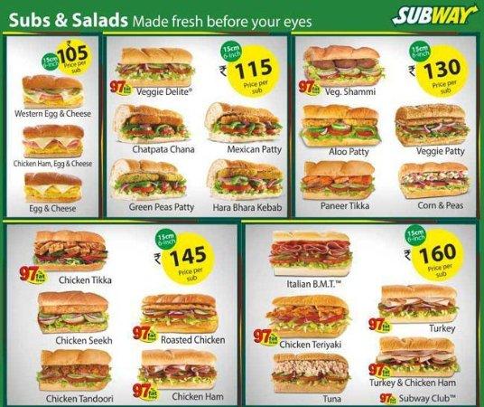 Subway, Gurgaon Food Courtartemis Hospital Sector 57