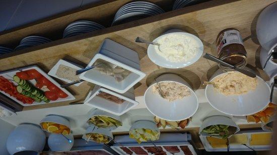 Hallormsstadur, Islandia: Frühstücksbuffet