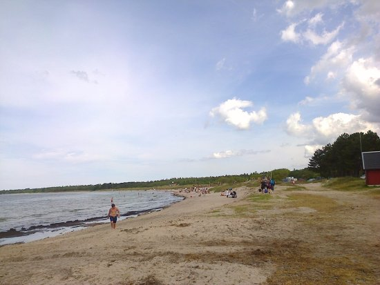 Tofta, Suecia: Stranden ca 10 min promenad från husen