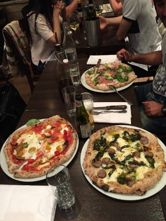 Donna Margherita Ristorante & Pizzeria: Pizze