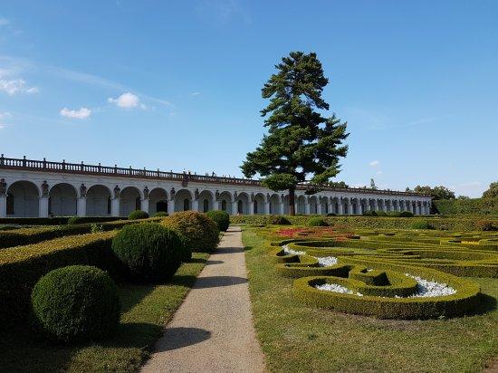 Kromeriz, Tjekkiet: Park Kvetna Zahrada