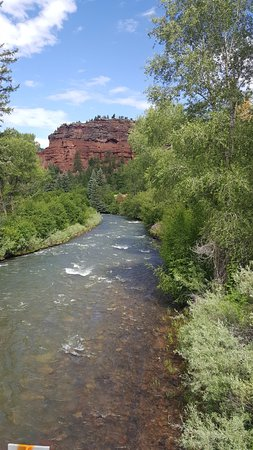 Mesa (Mesa County), Колорадо: The Dolores River in Mesa County, Colorado. Very serene and beautiful a must see