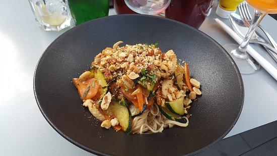 Sweet Caffe : wok au poulet