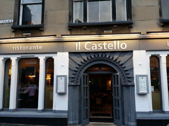 Il Castello restaurant: Der Eingang / the entry