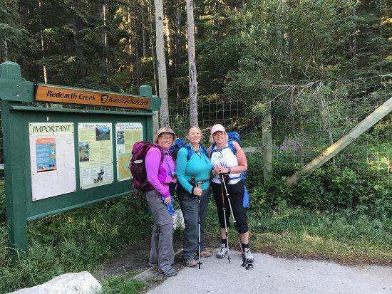 Shadow Lake Lodge: Redearth Creek Trailhead