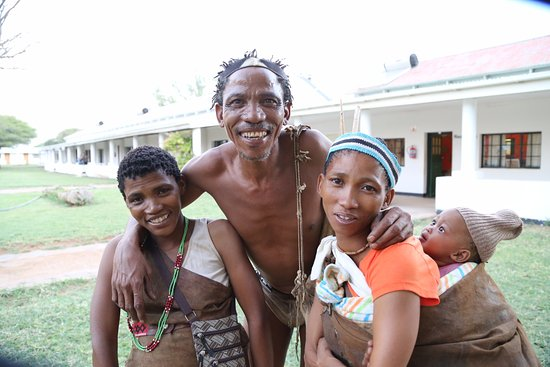 Ghanzi, Botswana: aardige en mooie mensen