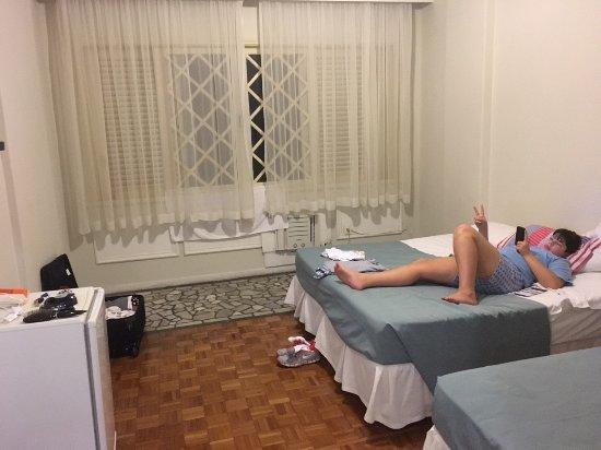 Toledo Copacabana Hotel: Quarto