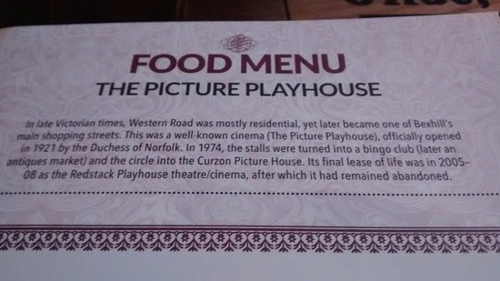 Bexhill-on-Sea, UK: The Picture Playhouse