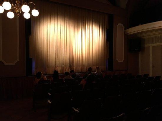 Rideaux de scène - Picture of Black Light Theater of Prague, Prague ...