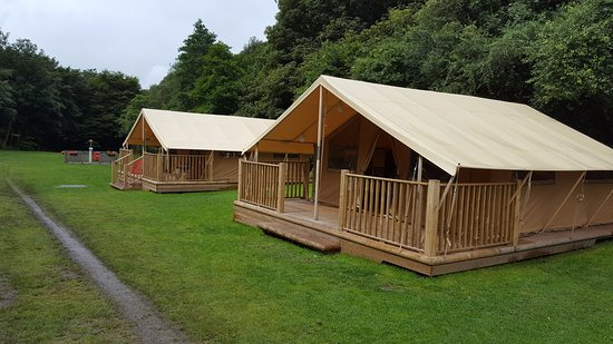 Hayfield, UK: Glamping tents 1 and 2 of 5