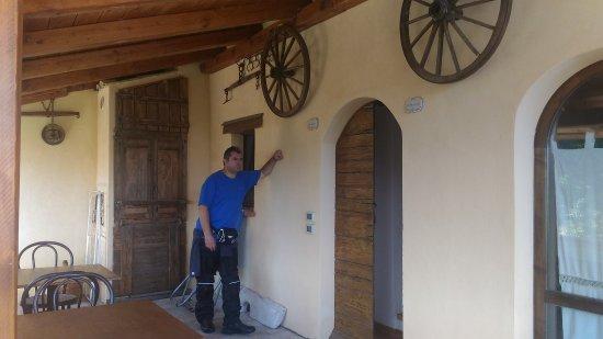 Country House Ca' Vernaccia: Ingresso delle camere