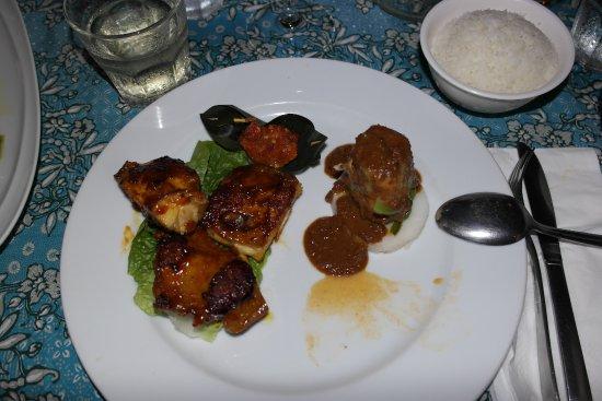 Blue Bali: Hauptgericht