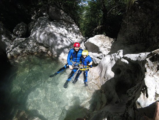 Bovec Rafting Team Canyoning I Susec Canyon