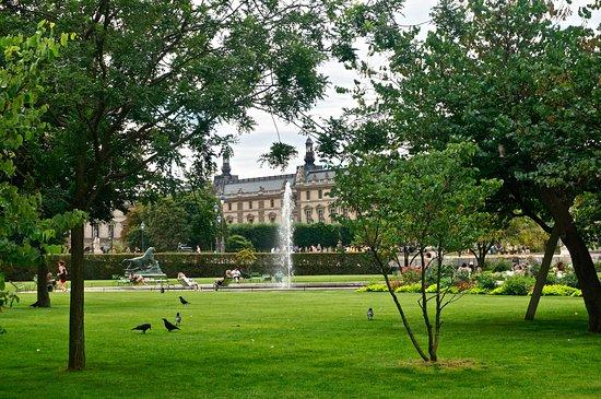 Les chaises permettent de se reposer l 39 ombre des arbres for Jardin ombre