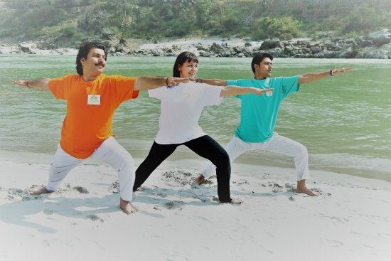 Tapovan, Ινδία: vedansha yoga teacher training  rishikesh india