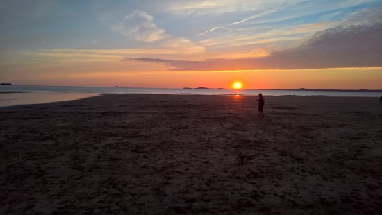 Sonnenuntergang in Broad Haven