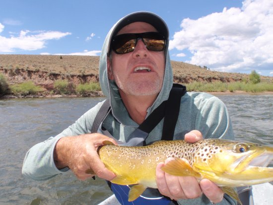 Edwards, CO: Fish is better looking than the fisherman