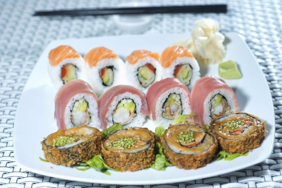 Oyster & Sushi Bar Bota : simply delicious sushi fusion style