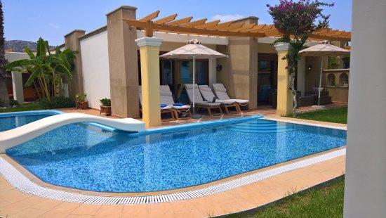 Atrium Palace Thalasso Spa Resort & Villas: Presidential Villa - private pool