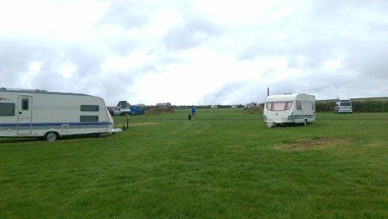Boscastle, UK: Camping field