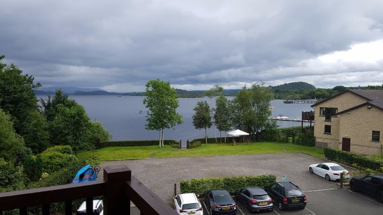 Lodge on Loch Lomond: View from room 64