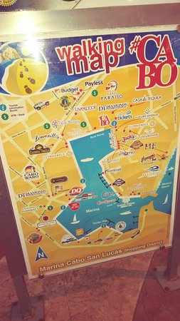 Marina cabo map - Picture of Ecocat Catamaran Tours, Cabo San Lucas on