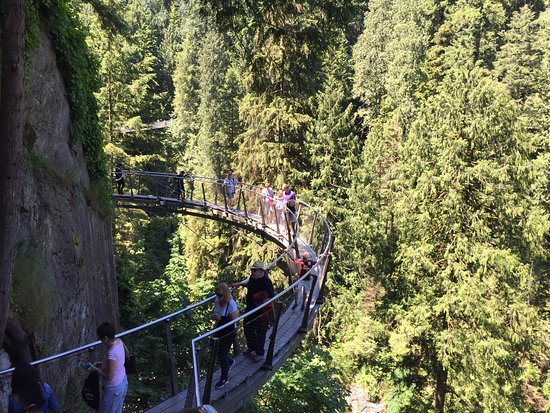 North Vancouver, Canada: The Cliff Walk.