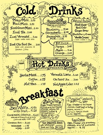 Coxsackie, Estado de Nueva York: Drinks, Breakfast