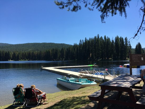 Colville, WA: Waterfront at Beaver Lodge