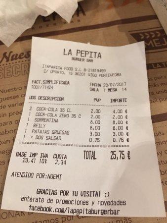 Restaurante la pepita burger bar en vilagarc a de arousa for La pepita burger salamanca