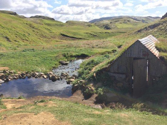 Fludir, Iceland: Hrunalaug