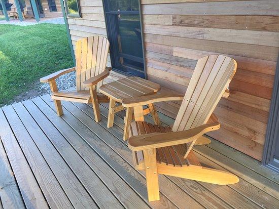 Hartland, VT: Cabin deck