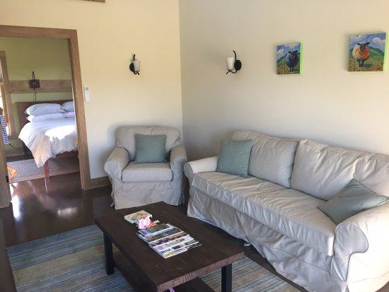 Hartland, VT: Living room