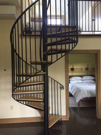 Hartland, VT: Bedroom and loft