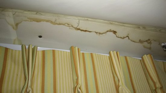 The Mission Inn Hotel and Spa: This has been leaking for awhile not just the night I stayed on August 1 when it rained