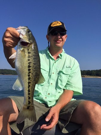 Cumming, GA: One of Many Big Spotted Bass