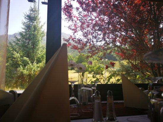 Montclar, France : Restaurant Le Dormillouse