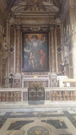 Chiesa del Gesu e dei Santi Ambrogio e Andrea : Картина на библейские сюжеты