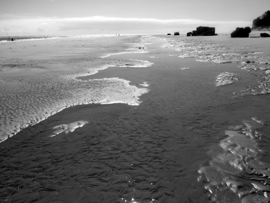 Plage de Gatseau : Plage