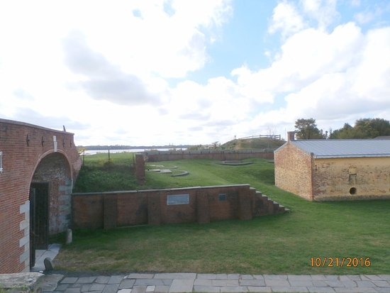 Fort Mifflin: View from above