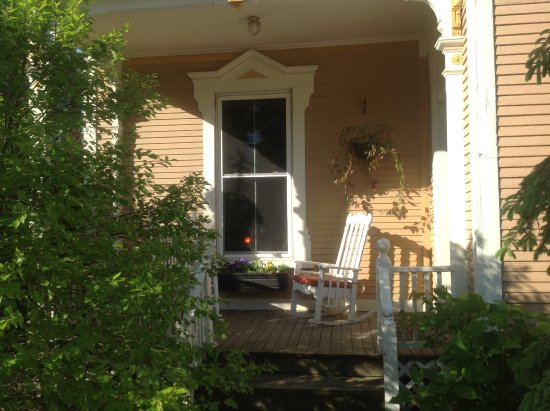 Saint Albans, VT: One of four covered porches for relaxing