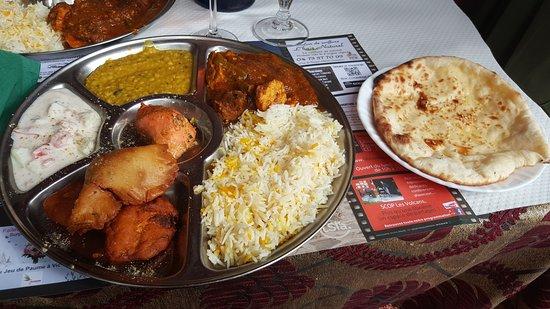 restaurant le gandhi dans clermont ferrand avec cuisine indienne. Black Bedroom Furniture Sets. Home Design Ideas