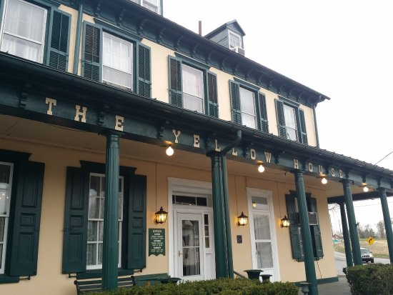 Douglassville, PA: A lovingly maintained historic hotel in the Pennsylvania countyside.